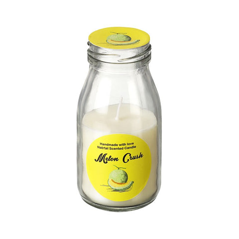 Melon Crush Scented Candle in a Bottle