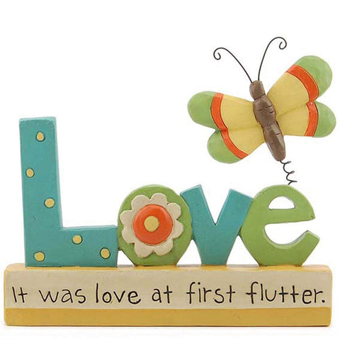 Love Butterfly Plaque