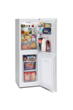 MONTPELLIER WHITE 48CM WIDE FROST FREE FRIDGE FREEZER