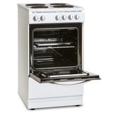 MONTPELLIER 50CM SINGLE CAVITY ELECTRIC COOKER WITH SOLID PLATE HOB
