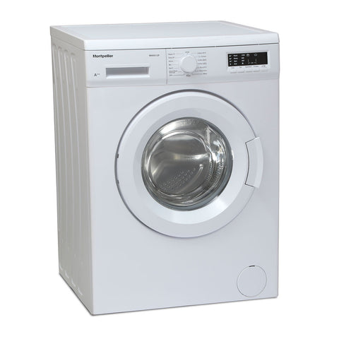 MONTPELLIER WHITE 9KG 1200 SPIN WASHING MACHINE