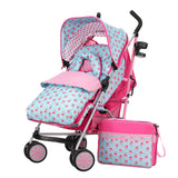 Zeal Pram Bundle - Cottage Rose