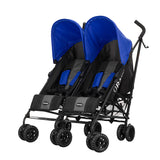 Apollo Twin Pram - Blue