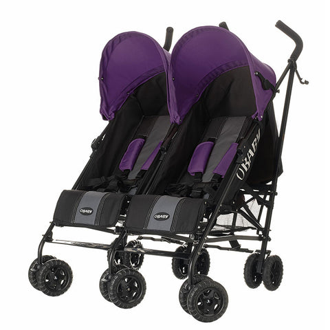 Apollo Twin Pram - Purple