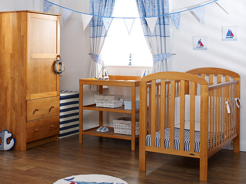 Lily Cot 3 Piece Furniture Set - Country Pine