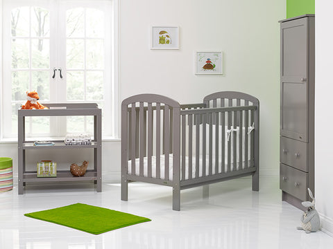 Lily Cot 3 Piece Furniture Set - Taupe Grey