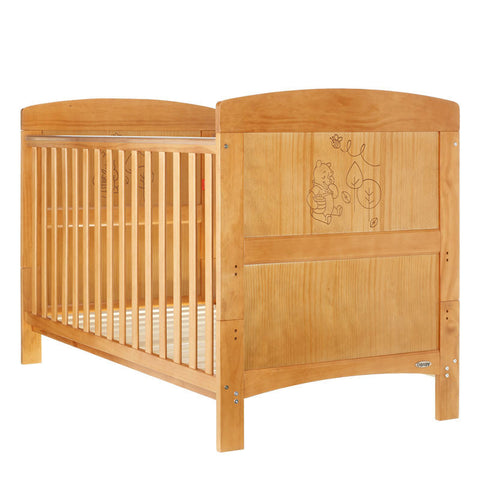 Disney Cot Bed - Winnie the Pooh Country Pine
