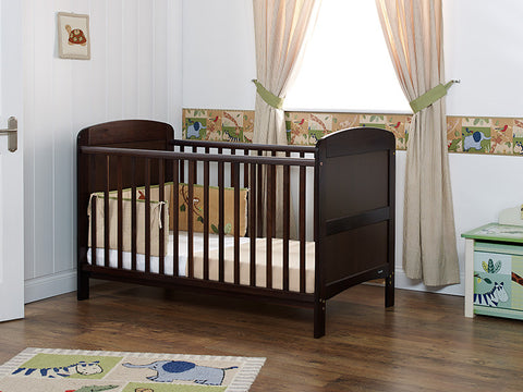 Grace Cot Bed - Walnut