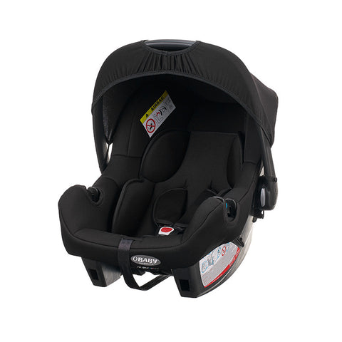 Chase Car Seat (0+) - Black (with Chase pram adaptors)