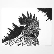 "The Rooster, 8"" x 6"""
