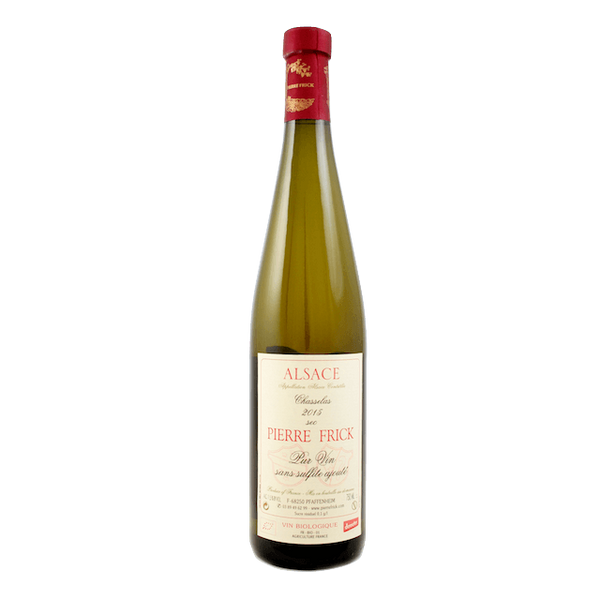 Pierre Frick Chasselas 2015 Alsace, France - Wine Sulphites - Sulphite Free Wines