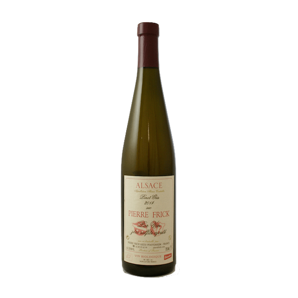 Pierre Frick Pinot Gris 2014 Alsace, France no added sulphites - Organic Wine Club