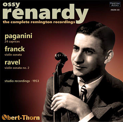 OSSY RENARDY The Complete Remington Recordings