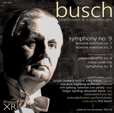 BUSCH conducts Beethoven in Copenhagen
