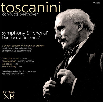 TOSCANINI A very special Beethoven Ninth!