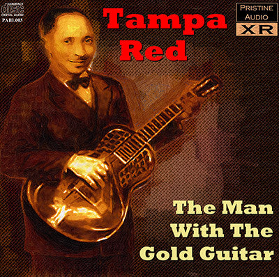 TAMPA RED The Man With The Gold Guitar - PABL003