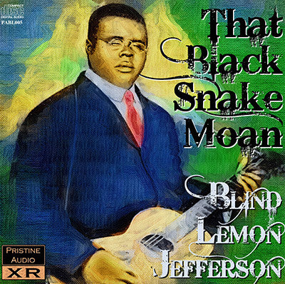 BLIND LEMON JEFFERSON That Black Snake Moan - PABL005