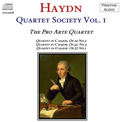 HAYDN QUARTET SOCIETY Volume 1 (1931) - PACM008