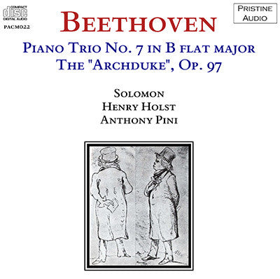 SOLOMON, HOLST, PINI Beethoven: