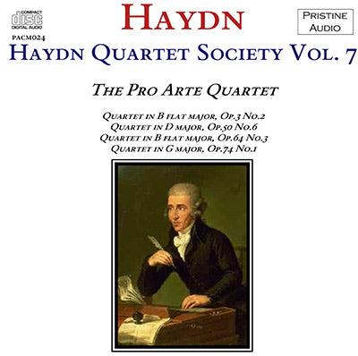 HAYDN QUARTET SOCIETY Volume 7 (1937) - PACM024 - CD