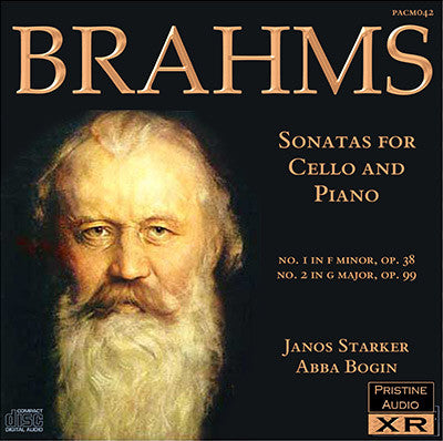 STARKER & BOGIN Brahms: Cello Sonatas (1953) - PACM042