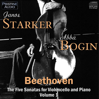 STARKER & BOGIN Beethoven: Cello Sonatas Vol. 1 (1952) - PACM047