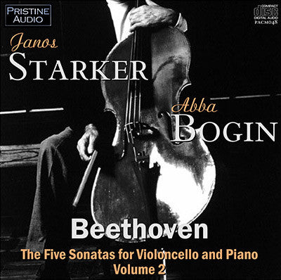 STARKER & BOGIN Beethoven: Cello Sonatas Vol. 2 (1952) - PACM048