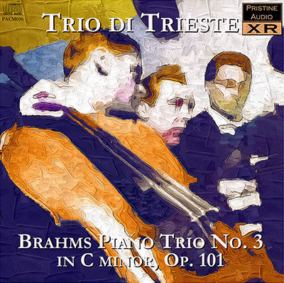 TRIO DI TRIESTE Brahms: Piano Trio No. 3 in C minor (1947) - PACM056