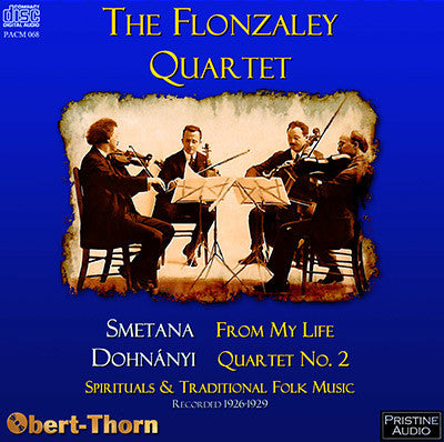 FLONZALEY QUARTET Smetana, Dohnányi and more (1926-29) - PACM068