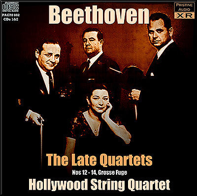 HOLLYWOOD QUARTET Beethoven: The Late Quartets (1957) - PACM082