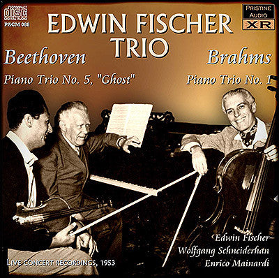 EDWIN FISCHER TRIO plays Beethoven, Brahms and Schumann (1953) - PACM088