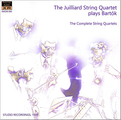 JUILLIARD QUARTET Bartók: The Complete String Quartets (1949) - PACM089