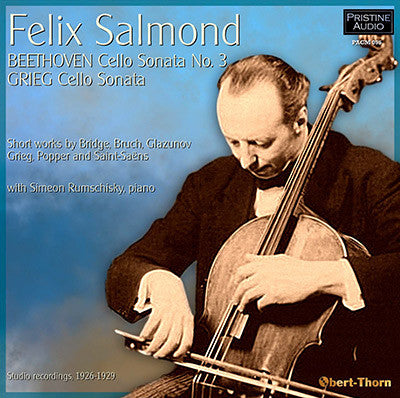 SALMOND plays Beethoven & Grieg Cello Sonatas (1926-29) - PACM095