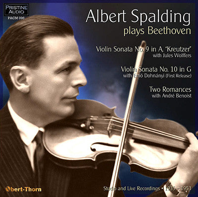 SPALDING plays Beethoven Sonatas & Romances (1935-53) - PACM096