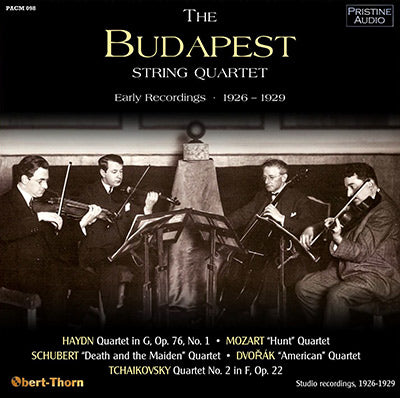 BUDAPEST QUARTET Early Recordings (1926-29) - PACM098