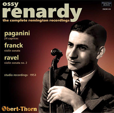 OSSY RENARDY The Complete Remington Recordings (1953) - PACM103