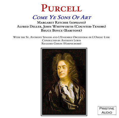 DELLER Purcell: Come Ye Sons of Art (1953) - PACO003
