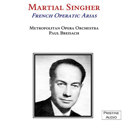 SINGHER French Operatic Arias (1945) - PACO004