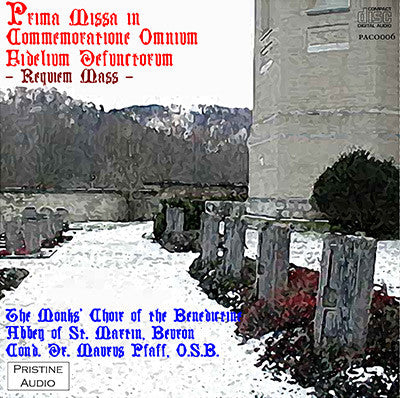 BEURON ABBEY MONKS Traditional Gregorian Requiem Mass (1954) - PACO006