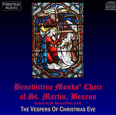 BEURON ABBEY MONKS Vespers of Christmas Eve (1952) - PACO014