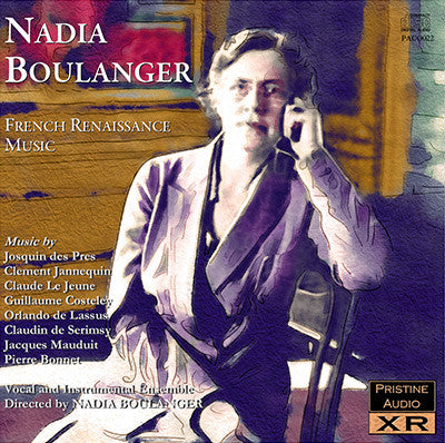 BOULANGER ENSEMBLE French Renaissance Music (1950) - PACO022