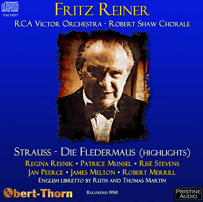 REINER Strauss: Die Fledermaus (Highlights) (1950) - PACO037