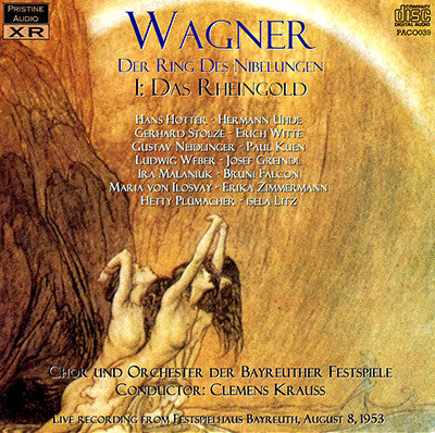 KRAUSS Wagner Ring Cycle & Parsifal (Bayreuth, 1953) - PABX004