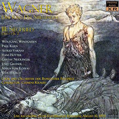 KRAUSS Wagner Ring Cycle: 3. Siegfried (1953) - PACO041