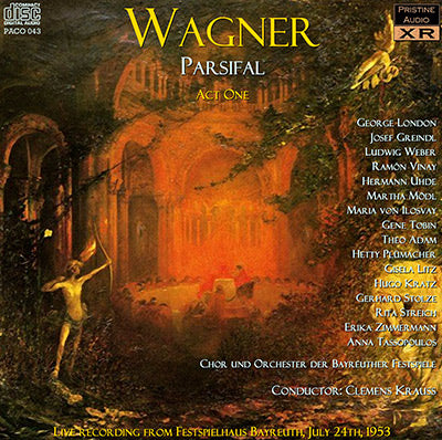 KRAUSS Wagner: Parsifal (1953) - PACO043