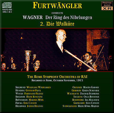 FURTWÄNGLER Wagner Ring Cycle: 2. Die Walküre (1953, Rome) - PACO058