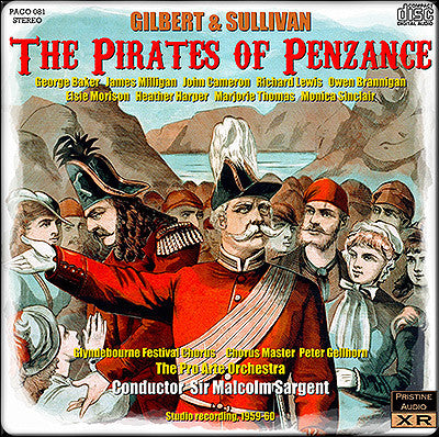 SARGENT Gilbert & Sullivan: The Pirates of Penzance (1959-60) - PACO081