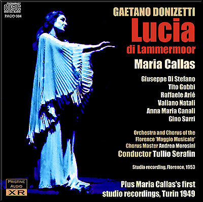 CALLAS Donizetti: Lucia di Lammermoor & First studio recordings (1953/1949) - PACO084