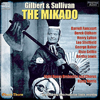 D'OYLY CARTE Gilbert & Sullivan: The Mikado (1926) - PACO087