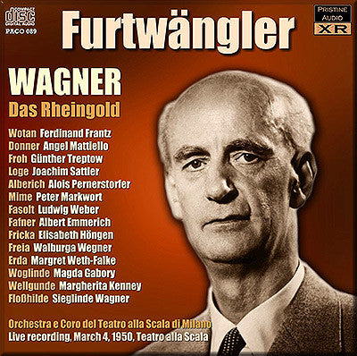 FURTWÄNGLER Wagner Ring Cycle: 1. Das Rheingold (1950, La Scala) - PACO089